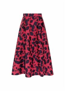 Hermione Skirt Midnight Cerise 16