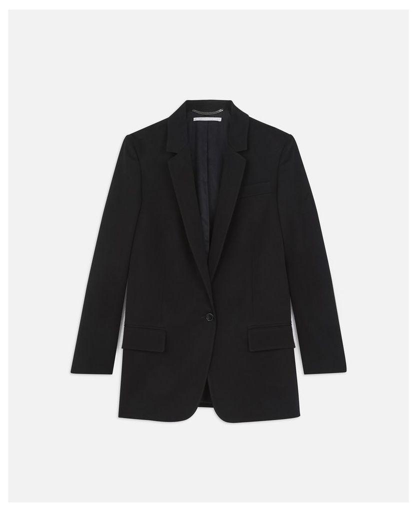 Stella McCartney Black Miah Jacket, Women's, Size 18