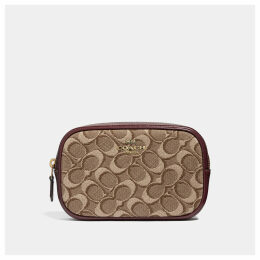 Coach Belt Bag In Signature Jacquard