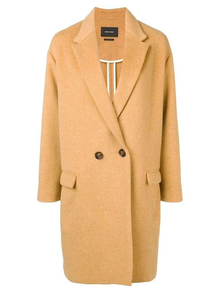 Isabel Marant oversized double-breasted coat - Neutrals