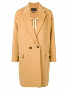 Isabel Marant oversized double-breasted coat - Neutrals