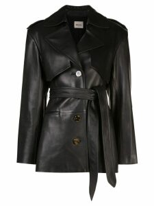 Khaite belted trench coat - Black