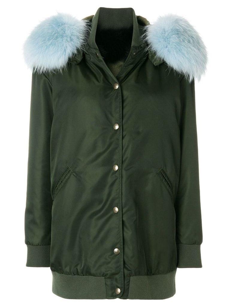 Mr & Mrs Italy single breasted coat - Green