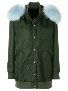Mr & Mrs Italy single breasted coat - Green