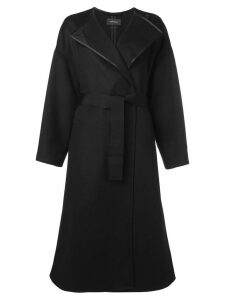 Isabel Marant double breasted coat - Black