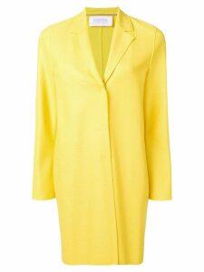Harris Wharf London cocoon coat - Yellow