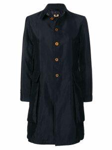 Comme Des Garçons Comme Des Garçons classic button-up coat - Black
