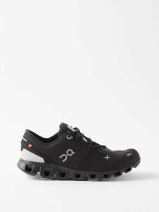 Balenciaga - Ribbon Print Plissé Blouse - Womens - Grey Multi