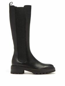 Loewe - Belted Twill Overcoat - Womens - Black