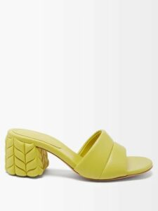 Balenciaga - Belted Leather Coat - Womens - Black