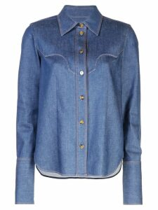 Khaite denim button shirt - Blue