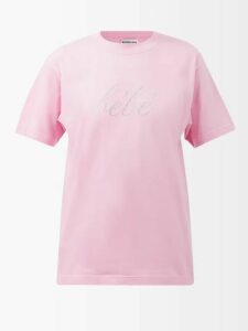 Joseph - Abbot Pleated Floral Print Silk Skirt - Womens - Cream Multi