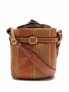 Emilia Wickstead - Marguera Floral Print Crepe Midi Dress - Womens - Blue Print