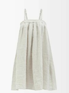 No. 21 - Crystal Embellished Collar Dress - Womens - Red