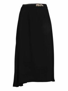 Prada Skirt Logo