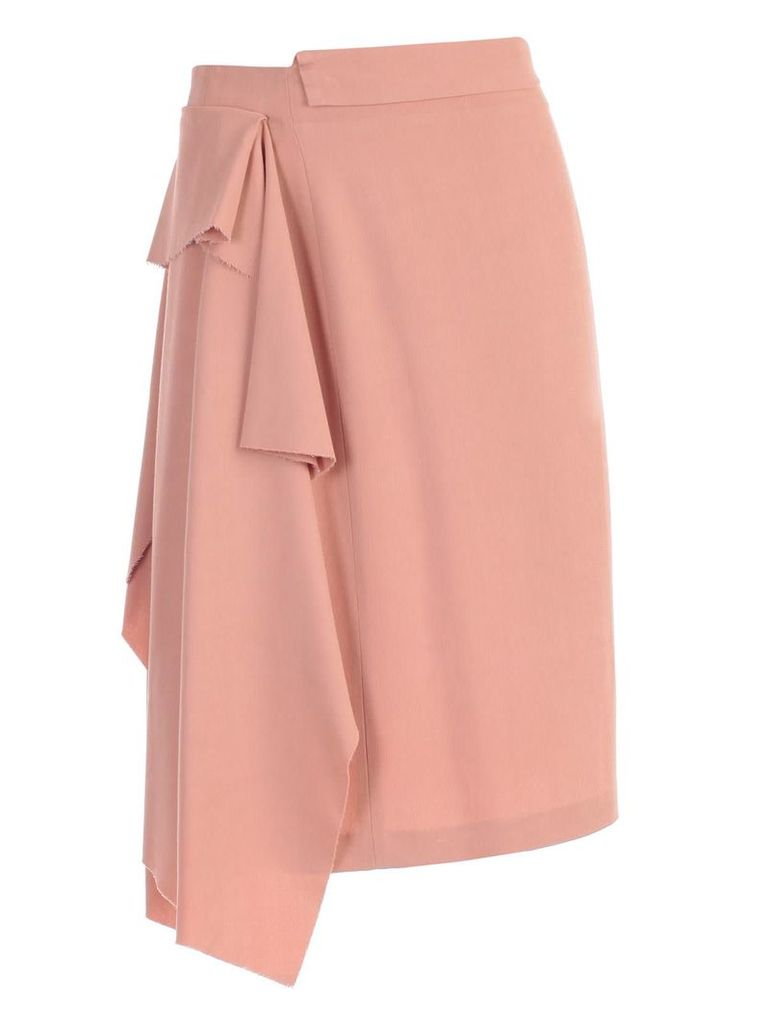 Maison Flaneur Flared Skirt