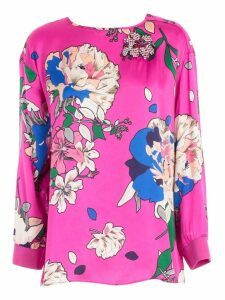 TwinSet Floral Print Top