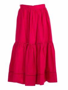Twinset Layered Flared Skirt