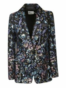 self-portrait Sequin Embellished Blazer