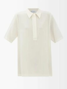 Calvin Klein Performance - Hooded Fleece Back Jersey Track Jacket - Womens - Black