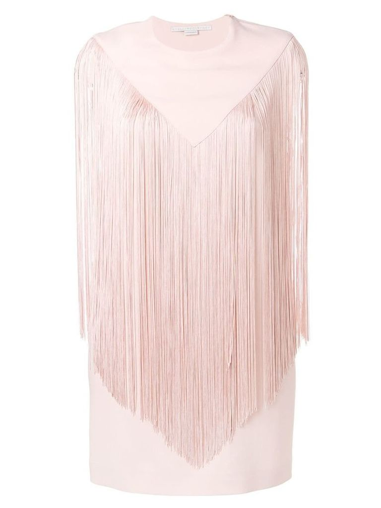 Stella McCartney fringed mini dress - Pink