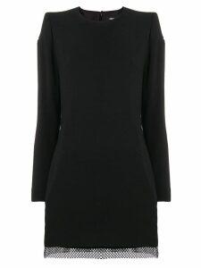 Dsquared2 mesh zip dress - Black