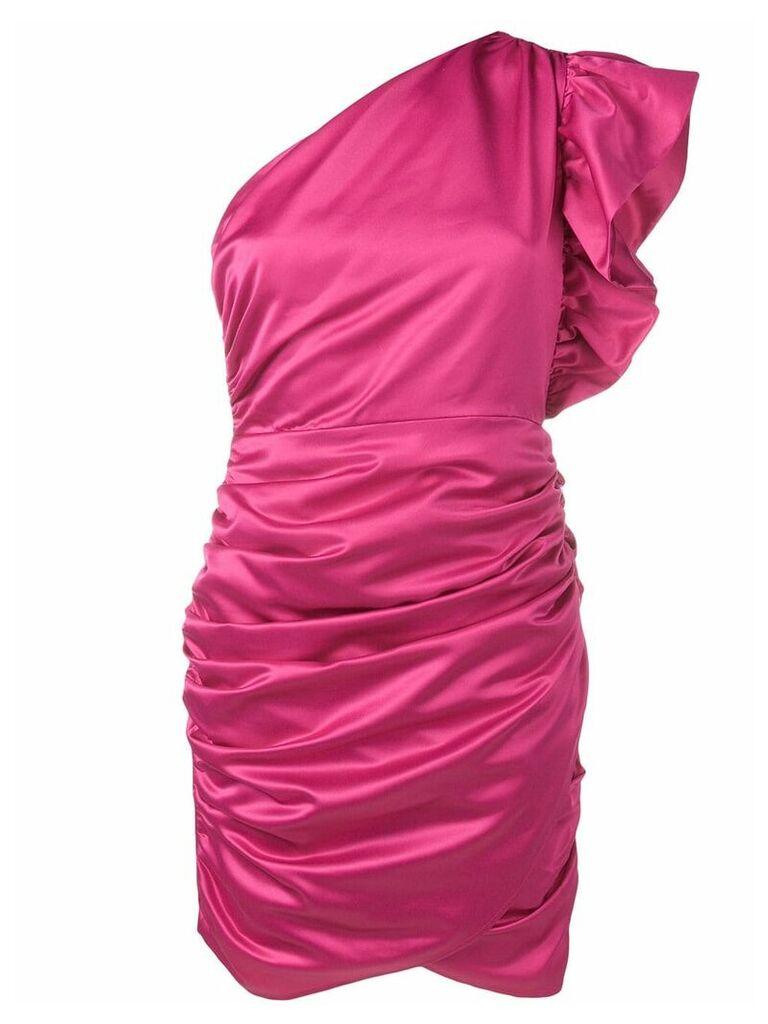 Ainea ruched mini dress - Pink