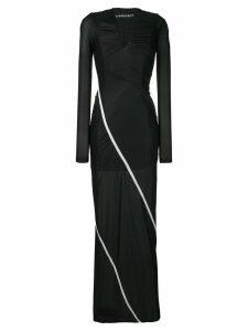 Y/Project stretch maxi dress - Black