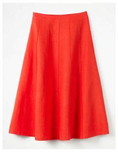 Laurie Skirt Orange Women Boden, Orange