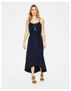 Jemma Jersey Dress Navy Women Boden, Navy