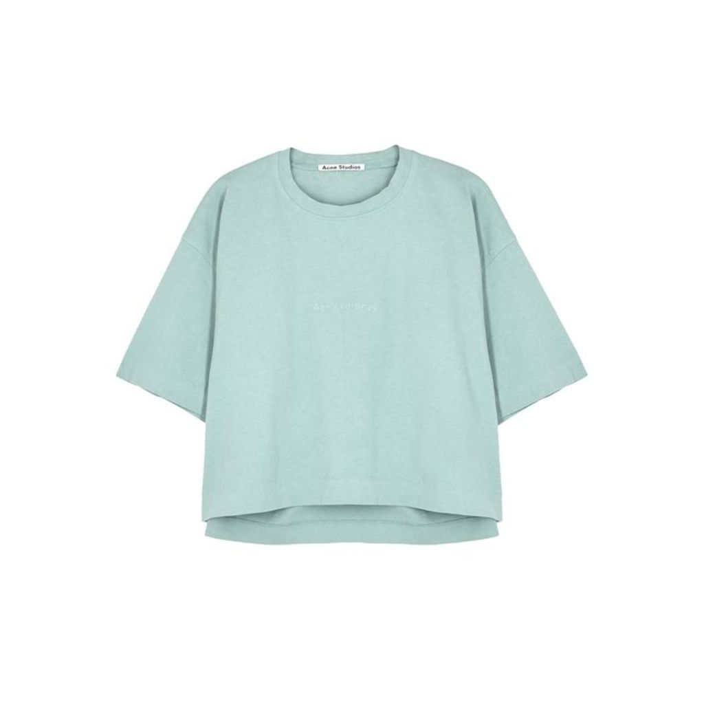 Acne Studios Cylea Logo-embossed Cotton T-shirt