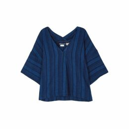 Levi's Made & Crafted Striped Chambray T-shirt