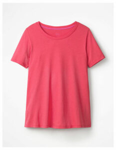 Supersoft Easy Tee Pink Women Boden, Pink