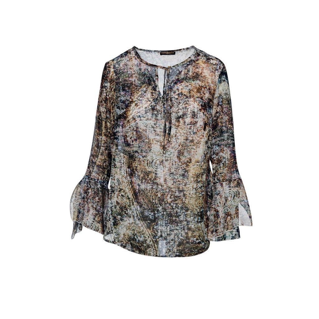 relax baby be cool - Java Hokokai Midi Wrap Skirt
