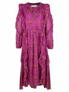 Ulla Johnson floral print dress - Purple