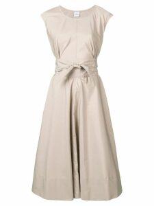 Aspesi flared midi dress - Neutrals