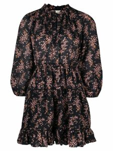 Ulla Johnson small floral print dress - Black