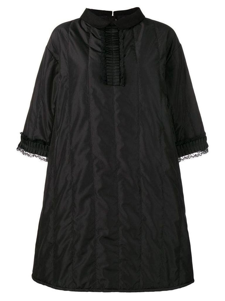 Mm6 Maison Margiela padded shift dress - Black