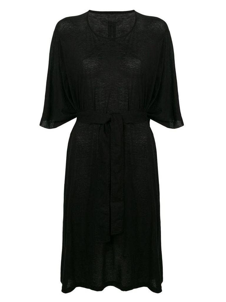 Rick Owens DRKSHDW belted T-shirt dress - Black