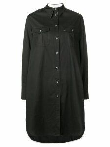 Calvin Klein poplin shirt dress - Black