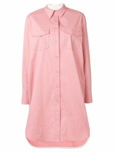 Calvin Klein oversized shirt dress - Pink