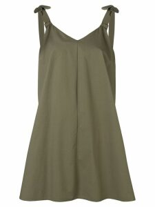 Blugirl bow strap dress - Green