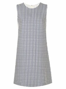 Valentino V print dress - Blue
