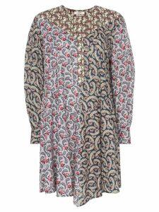 Isabel Marant Étoile Lissande contrast print dress - Pink