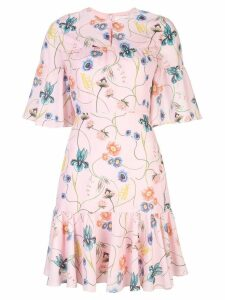 Borgo De Nor Alba floral-print dress - Pink