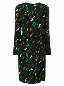 Givenchy printed dress - Black