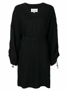 Maison Margiela belted dress - Black