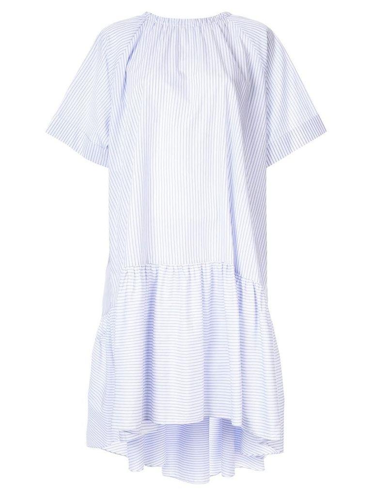Rochas striped dress - Blue