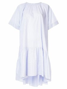 Rochas striped dress - Blue