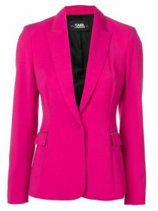 Karl Lagerfeld tailored blazer - Pink